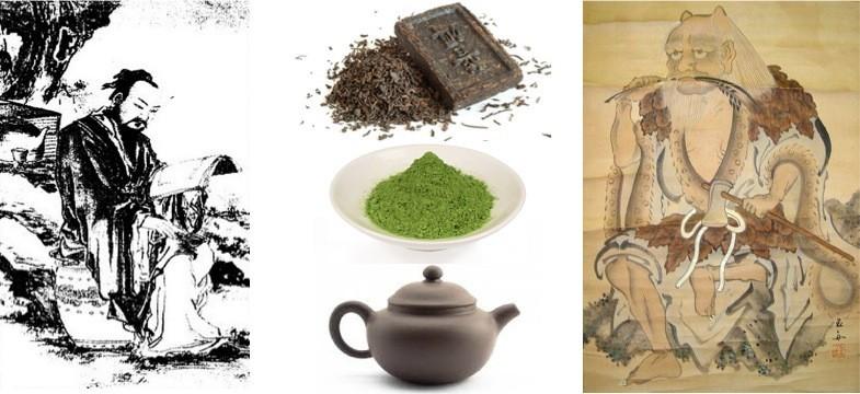 Histoire du thé vert en Chine