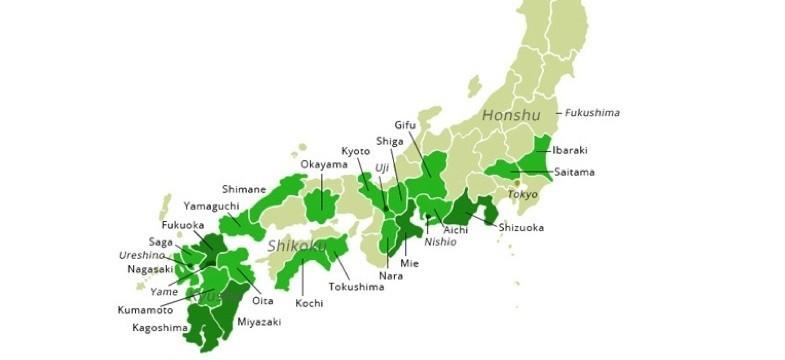 Meilleures régions du Japon