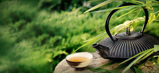 Préparer le thé vert