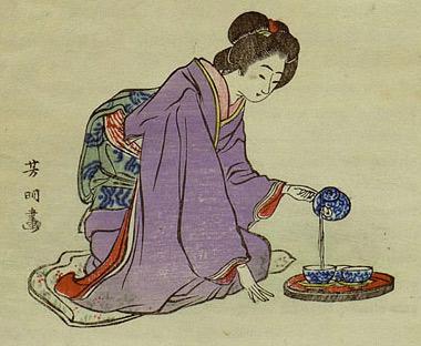 Préparation traditionnelle japonaise