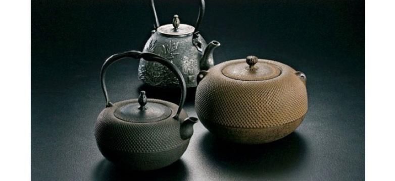 Histoire des bouilloires en fonte au Japon