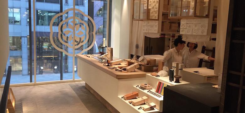 Higashiya Ginza maison de thé à Tokyo
